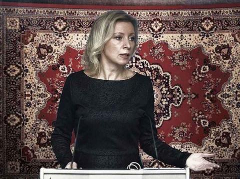10 лучших вариантов фона для пресс-секретаря МИД РФ от простых россиян