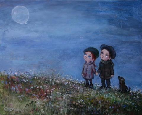 20 картин художницы Нино Чак…