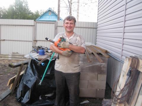 Как построил гараж для брата своими руками