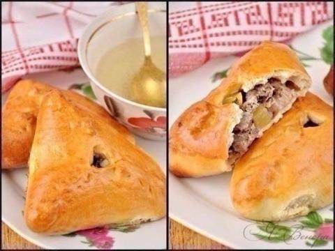 Татарские треугольные пироги…