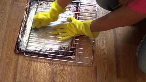 Очищаем посуду (решетки для …