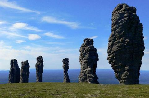 Плато Манпупунёр – одно из семи чудес России
