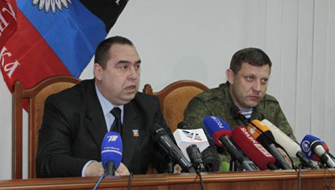 Захарченко в Симферополе поя…