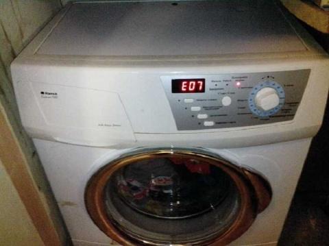 Все коды ошибок стиральных машин
