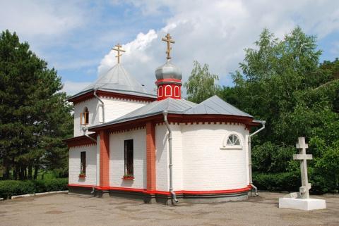 Пантелеимоновская церковь в Кисловодске.