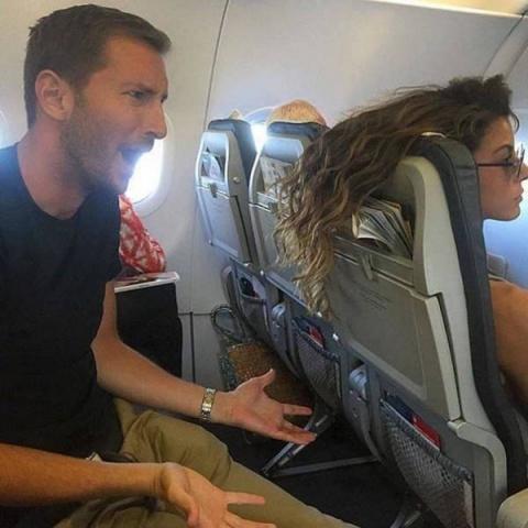 Долбанутые в самолете и английский чай