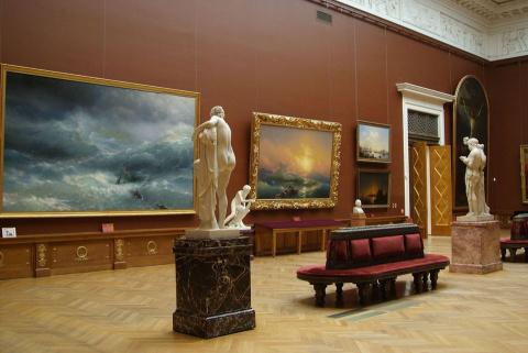Русский музей и ГМИИ им. Пуш…