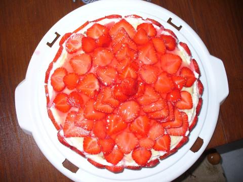 Клубничный торт.Фото -Рецепт Olga Dell