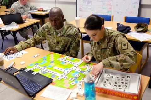Американские военные учат ру…