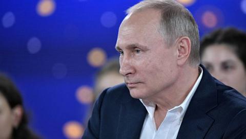 Путин: Украина захлебывается в коррупции