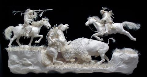 Бумажные скульптуры или шедевры бумажного искусства