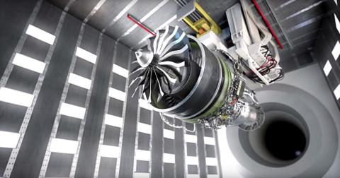 Самый большой авиадвигатель …