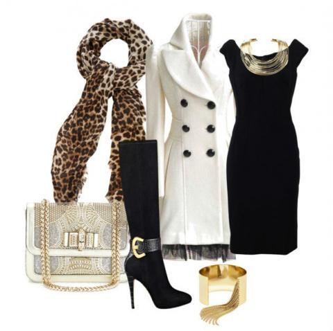С чем носить белое пальто: 10 шикарных образов ноября