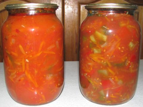 ЗАГОТОВКИ НА ЗИМУ. Варёный салат из овощей