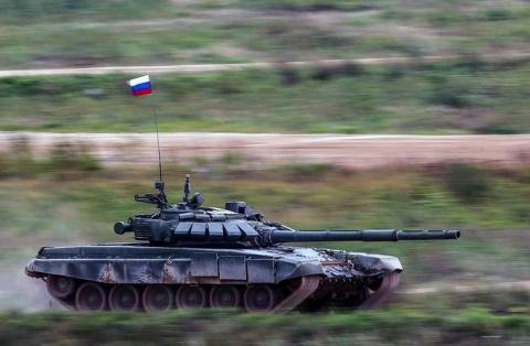 На вооружение общевойсковой армии ЮВО на Северном Кавказе поступили новейшие образцы техники