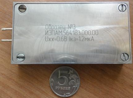 Российская батарейка со сроком работы 10 лет сертифицирована