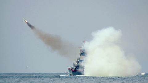 Суперракетница для российского флота