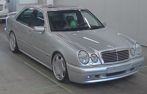 Mercedes W210 Carlsson c Японского аукциона