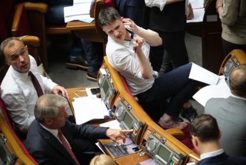 Ну как там Савченко?