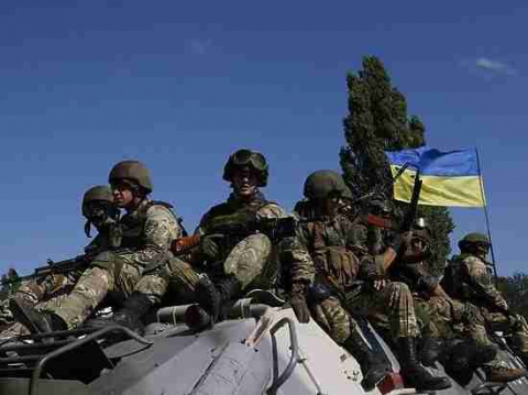 """Украинские военные """"под шумо…"""