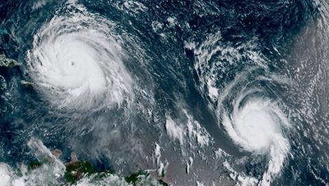 Серия ураганов была сгенерир…