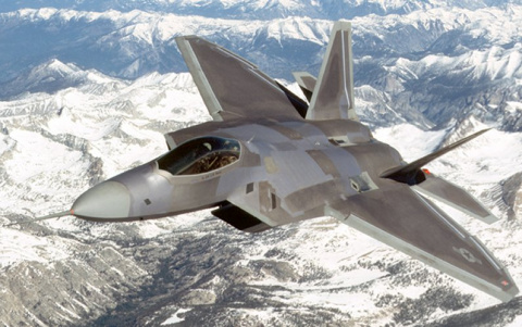 Сценарий боя: F-22 Раптор против С300В.