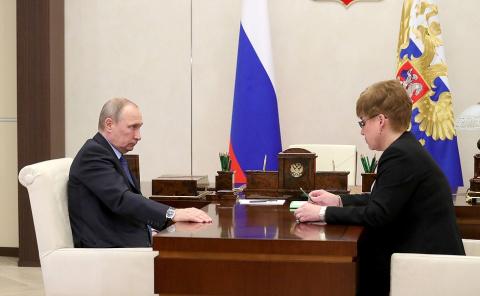 Встреча с губернатором Забайкальского края Натальей Ждановой