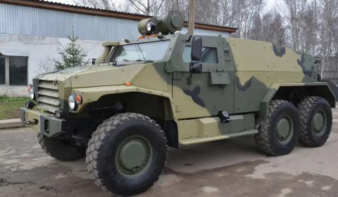 Популярные бронемашины русской армии