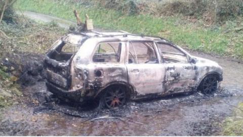 В Британии сожгли волонтера, помогавшего украинским военным