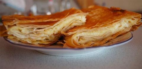 """Сырный пирог из армянского лаваша"""""""