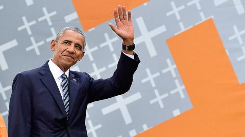 Твит Обамы о событиях в Шарл…