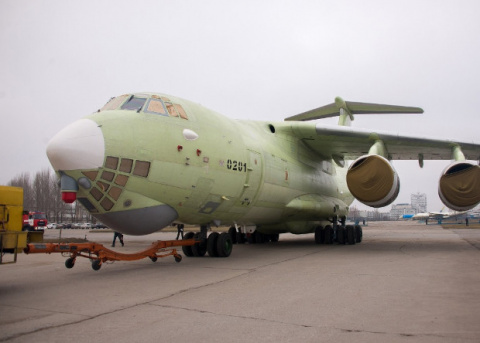 В Ульяновске показали новый самолет-заправщик