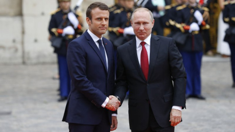 Макрон использовал эфемерный подход для встречи с Путиным