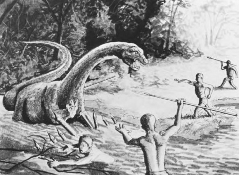 Лох-Несское чудовище и ее родственники