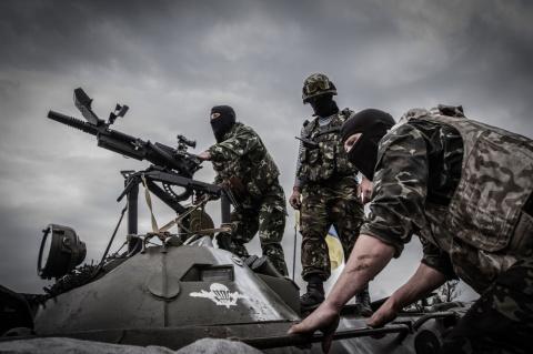 Украинские силовики захватил…