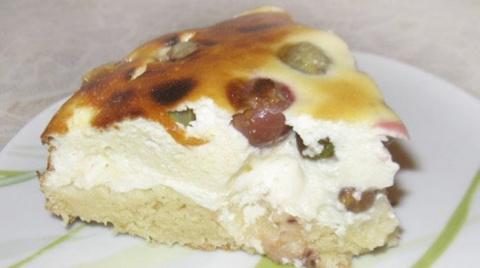 Очень вкусный пирог с крыжовником