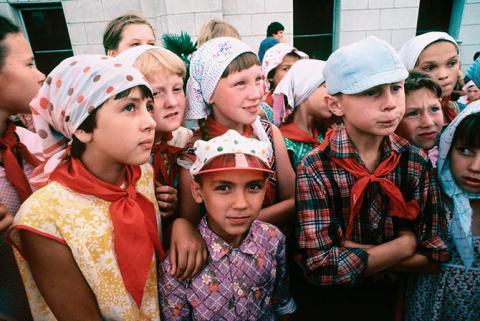 Дети из СССР.