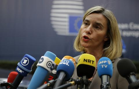 Могерини: только ЕС обеспечивает Сирию гуманитарной помощью