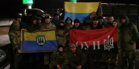 Украинские националисты открыли первый редут блокады на мариупольском направлении