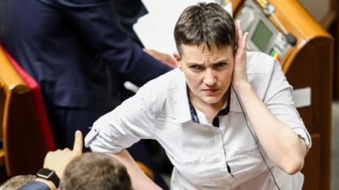 """Савченко: """"Евровидение-2017"""" нужно проводить на Донбассе, на линии огня"""