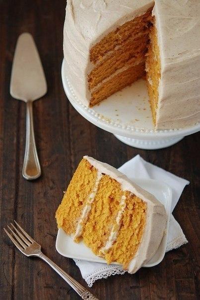 Морковный торт с грецкими ор…