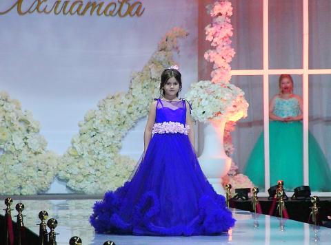 Галия Ахматова представила новую коллекцию свадебной и вечерней моды
