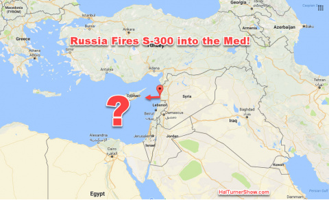 ИНОСМИ: Россия выстрелила С-300 в сторону Средиземного Моря.