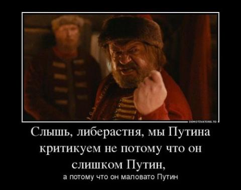 О Путине и его критиках