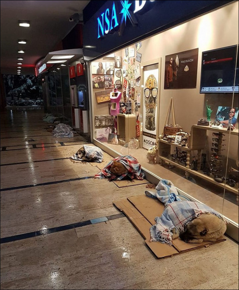 Как жители Стамбула помогали…