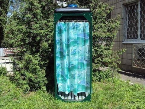 Как построить летний душ на …