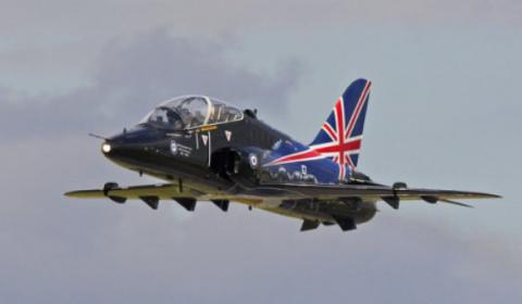 В Шотландии по тревоге взлетели в воздух два истребителя ВВС Великобритании