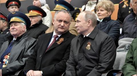 Парад Победы напомнил New York Times об изоляции России