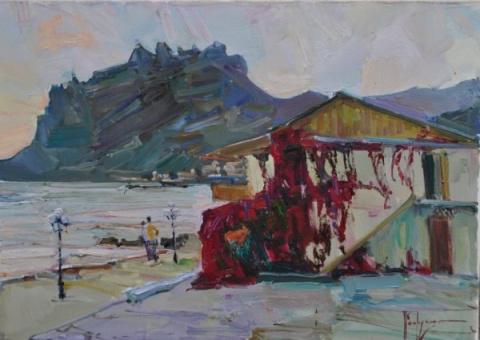 Российский художник Алексей Петрухин