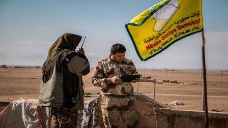 Арабо-курдская коалиция подо…